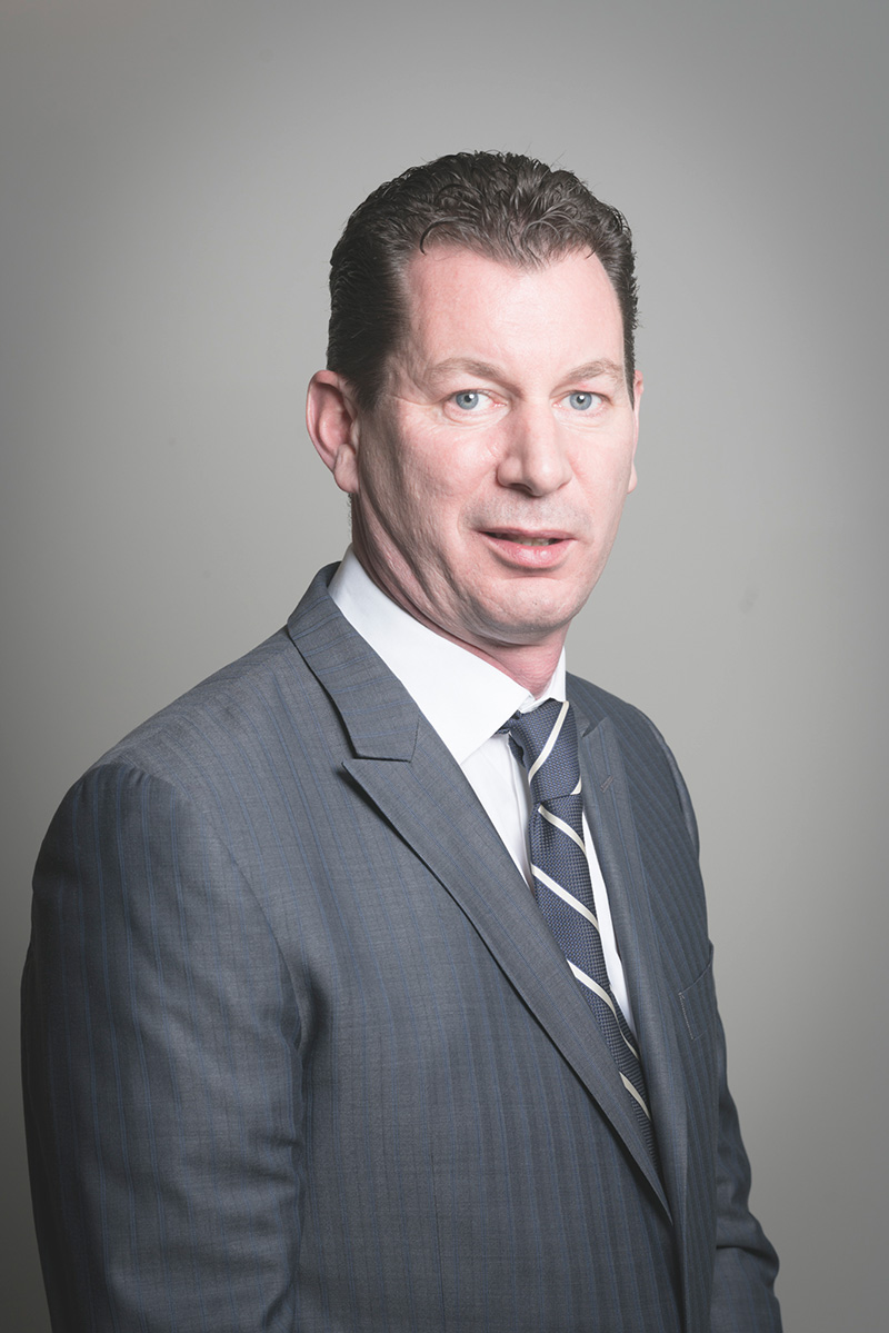Padraig Naughton Financial Controller