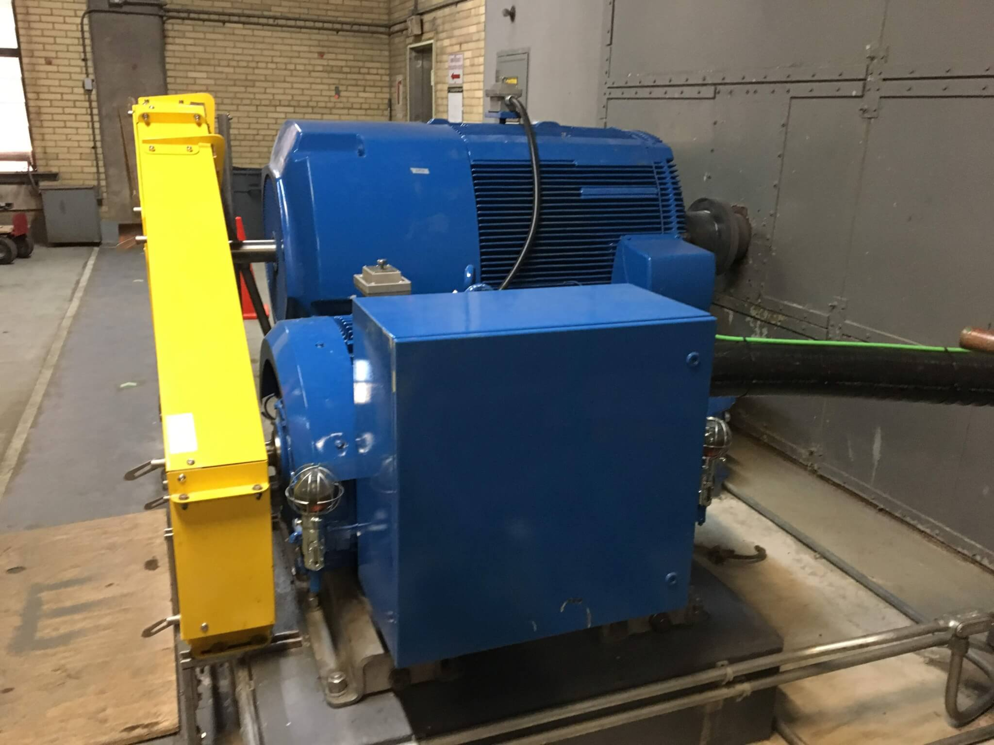 Hugh L. Carey Tunnel Prototype Motor Replacement