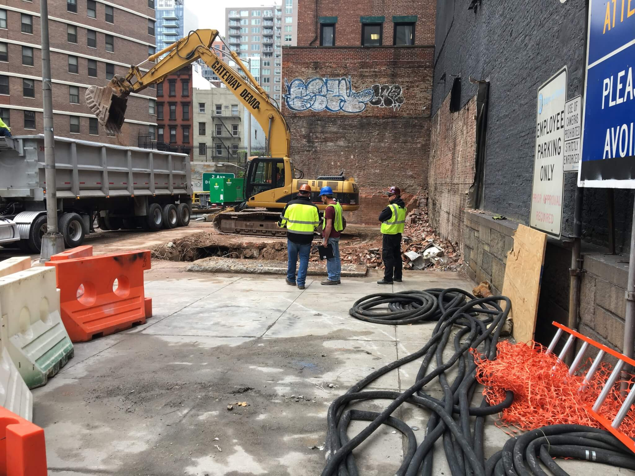 Queens Midtown Tunnel - Demolition of Garage C