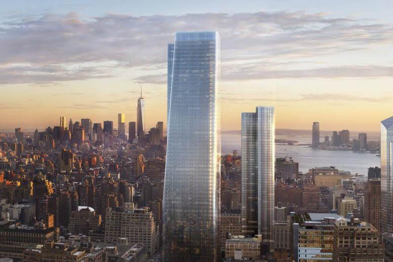 Rendering of One Manhattan West